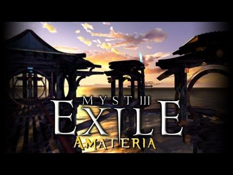Myst Iii Exile Amateria Roller Coaster Ride Youtube Roller