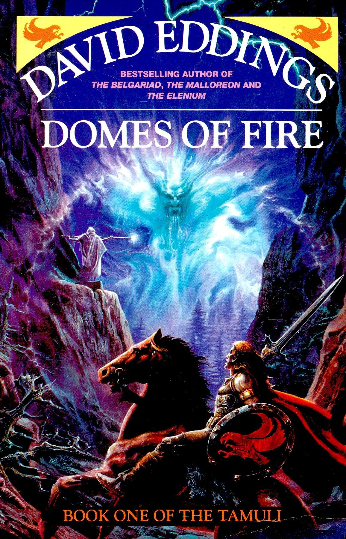 Domes Of Fire: Book One Of The Tamuli (1992) By David Eddings  Books   Pinterest  Fire Book And Books