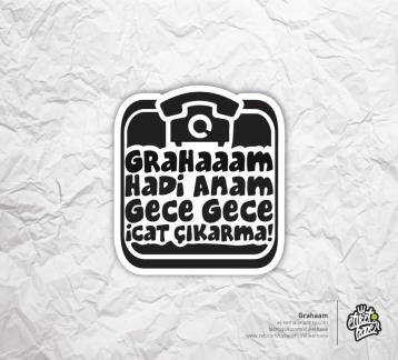 Grahaam - Etiket
