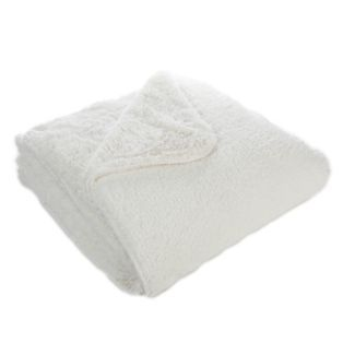 plaid couvre lit 220x250cm snow text textiles et tapis alinea - Couvre Lit Alinea