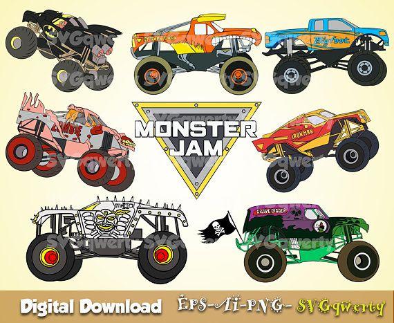 Https Img Pngio Com Monster Jam Svg Monster Truck Svg Grave Digger Svg El Toro Loco Grave Digger Clip Monster Trucks Monster Jam Birthday Monster Truck Party
