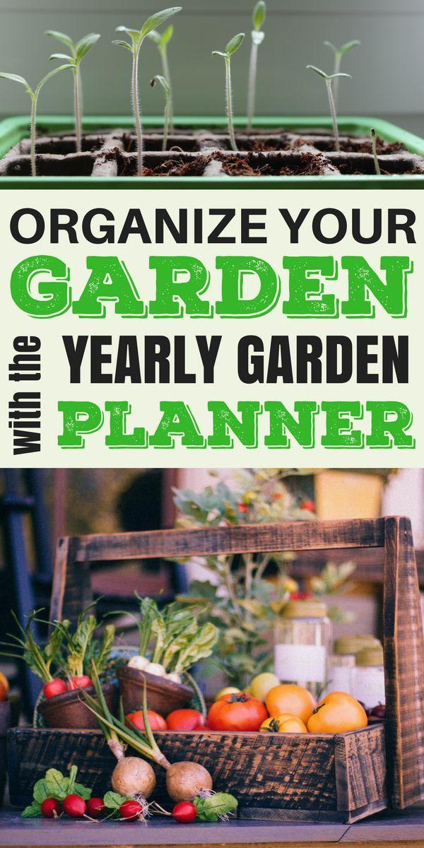 Yearly Garden Planner | Vegetable garden planner, Garden ...