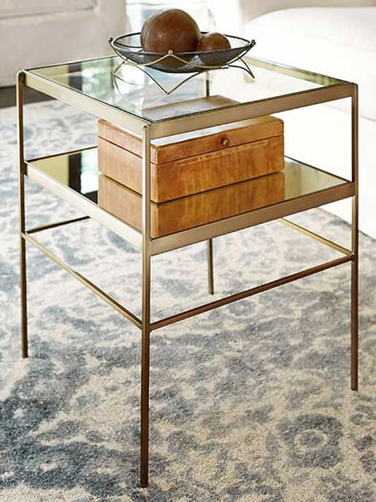 Side Tables Are A Great Way To Top Off Your Living Room
