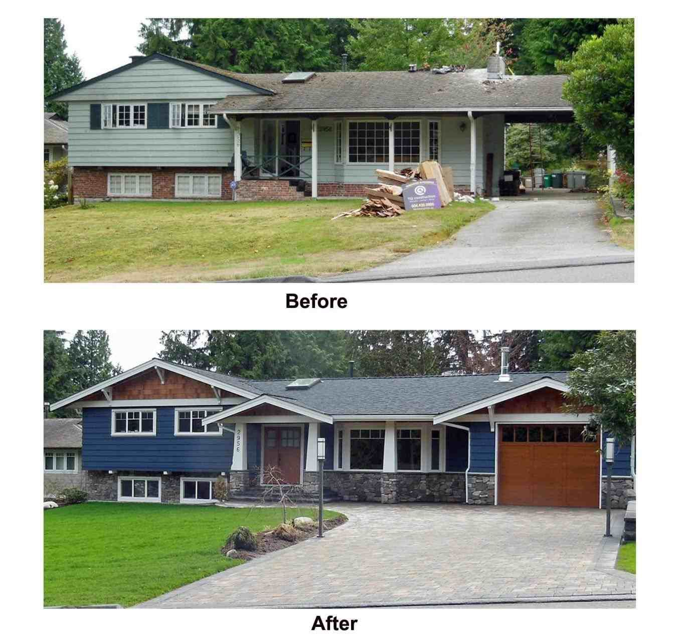 Ranch Home Exterior Ideas: Split Level Home Remodel Ideas Exterior