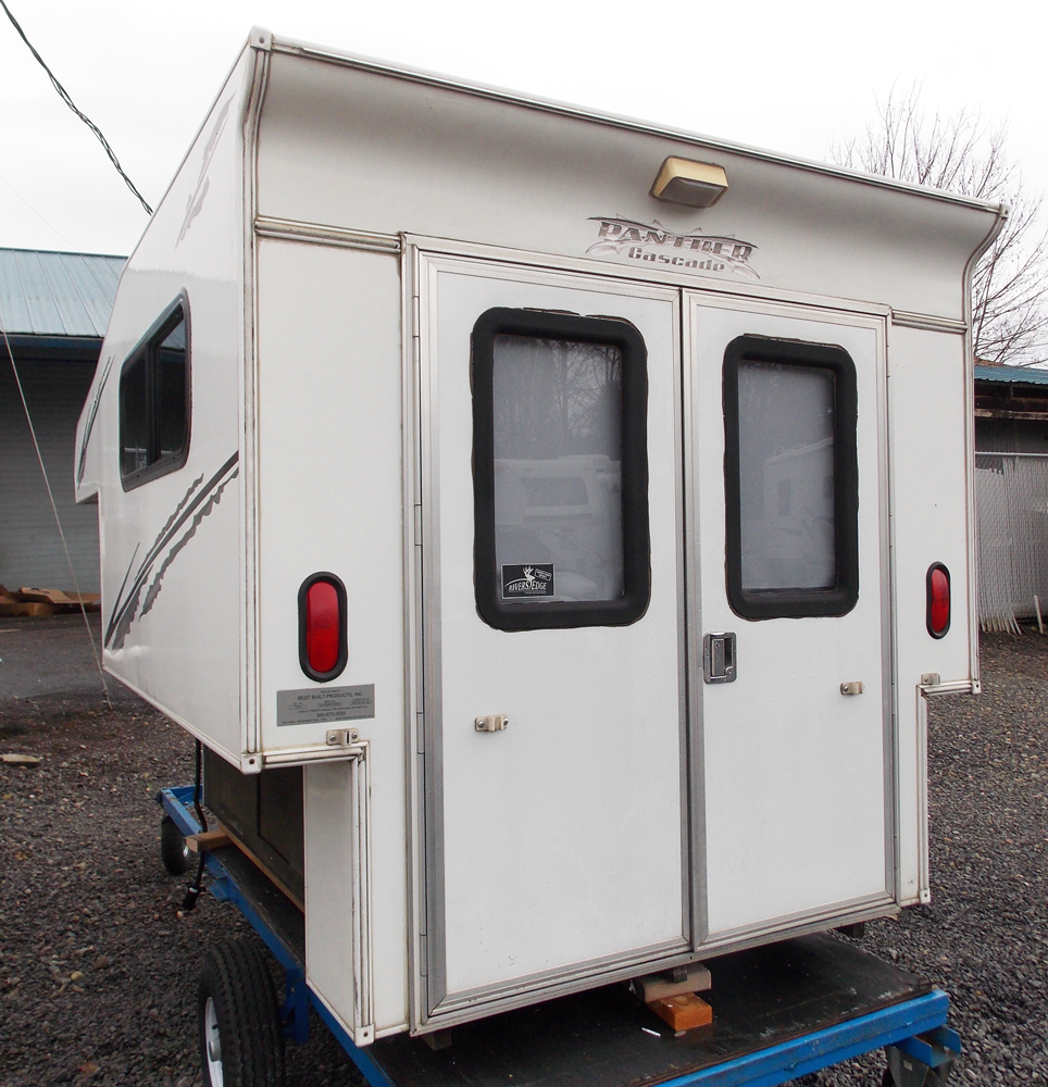 Truck Campers: Our Cascade Model Is A Light Weight Slide-in Truck Camper
