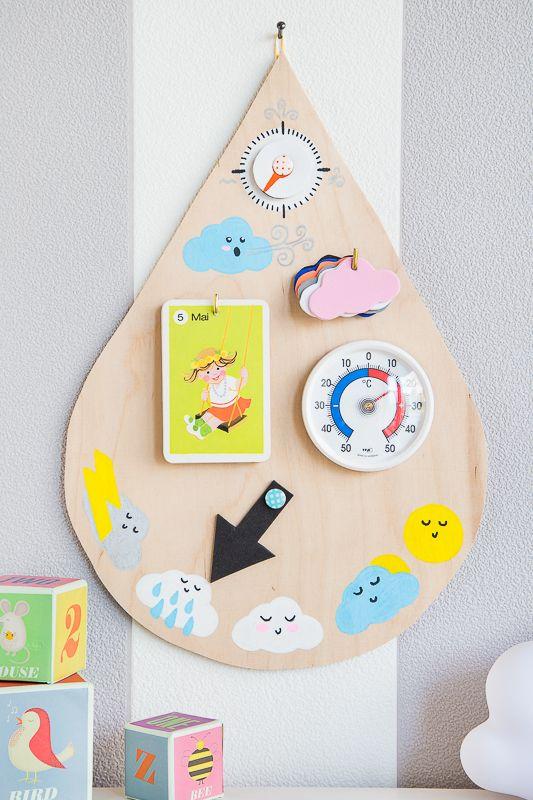 Photo of Haga juguetes para niños usted mismo: una estación meteorológica