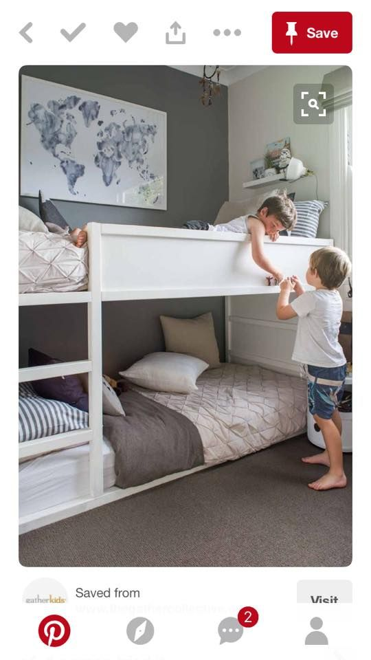 Chambre Enfant Lit Superposes Ikea Hacks Lit Bedroom Room Et
