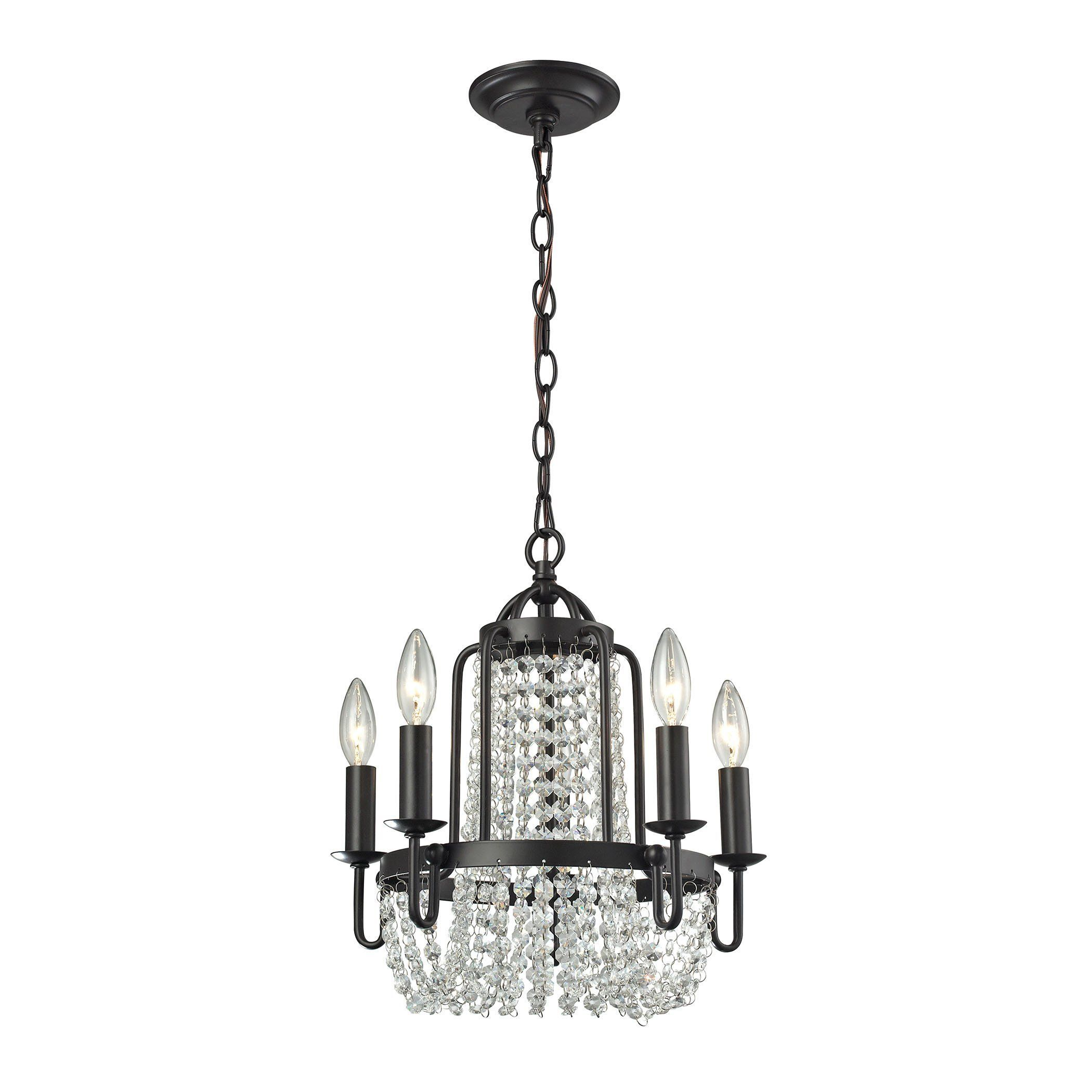 Chandette light chandelier in oil rubbed bronze products