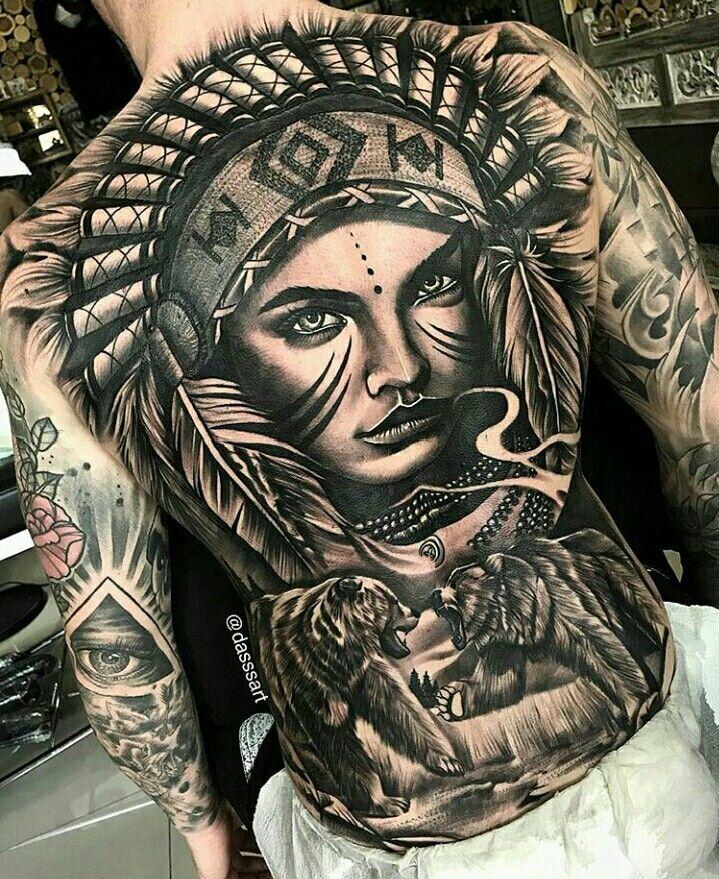 Pin Na Indian Tattoo