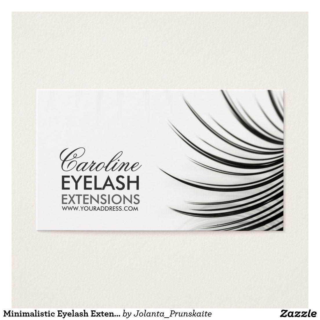 Profile Card In 2018 Eyelash Extensions Pinterest Eyelashes