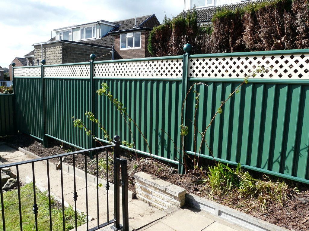 Our Gallery Colourfence In Huddersfield Garden Fencing Metal