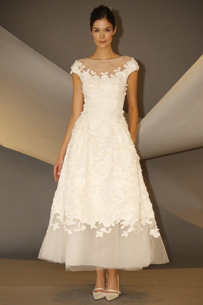 Carolina Herrera Goes Short for Bridal | WWD | Store Carolina ...