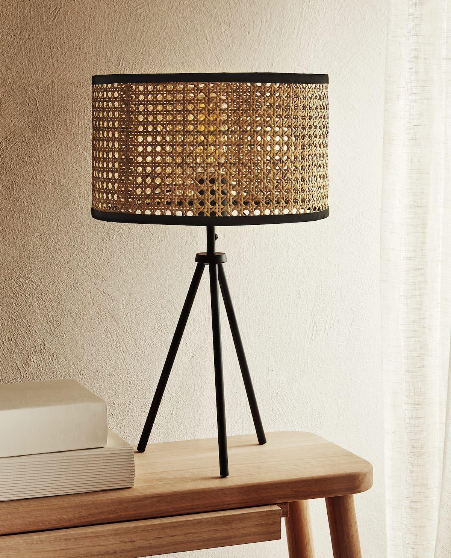 Image 7 Du Produit Lampe Rotin Rattan Lamp Zara Home Lamps Lamps Living Room