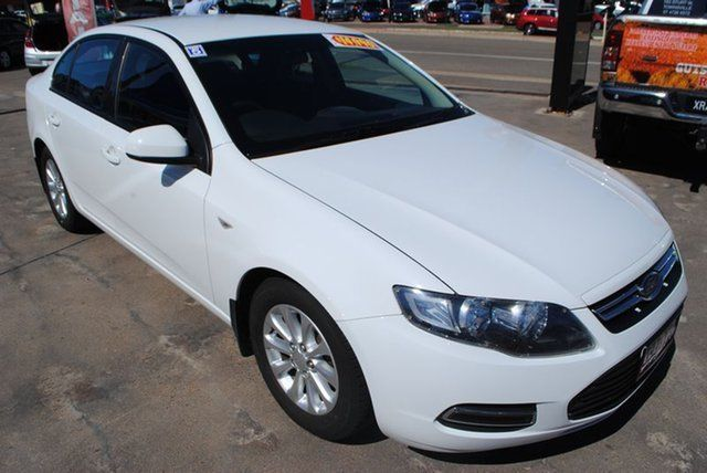 2013 Ford Falcon Fg Mkii Xt Ecoboost White 6 Speed Sports