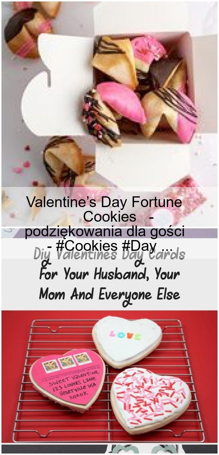 Valentines Day Fortune Cookies  Thanks to the guests    Valentines Day Fortune Cookies  Thanks to the guests