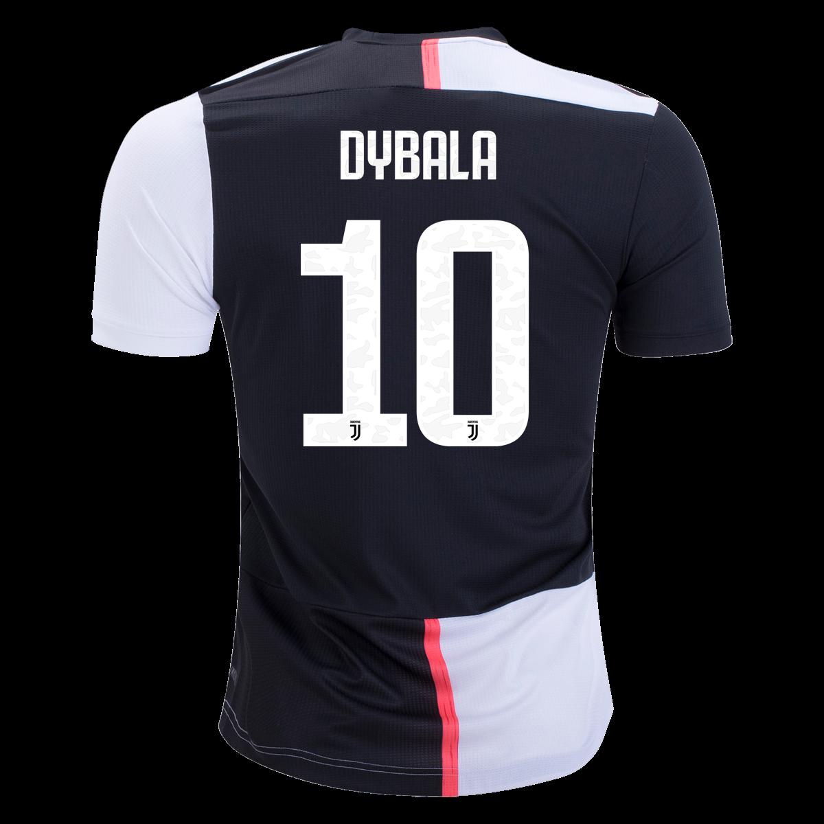 uk availability b8b29 223ae adidas Paulo Dybala Juventus Authentic Home Jersey 19/20-s ...