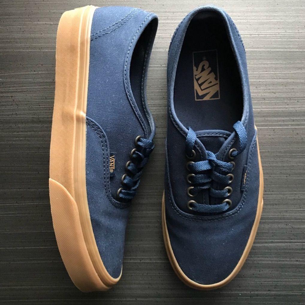 Navy blue vans, Vans shoes women