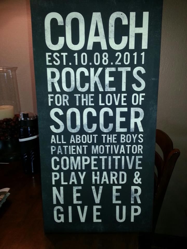 Great Gift For The Coach In Your Life