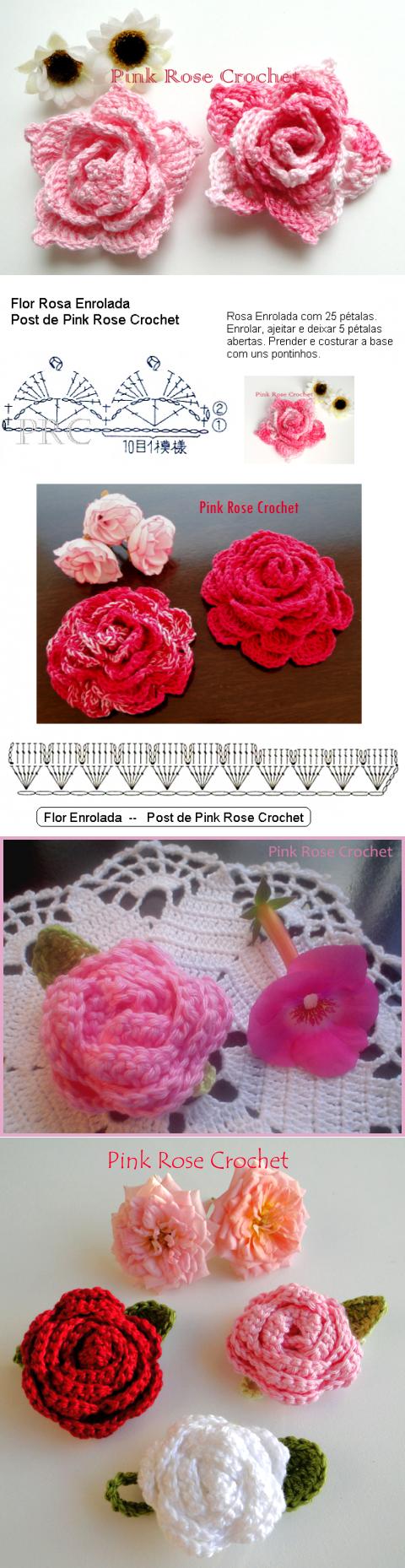 tosichka5.net.ru | Crochê | Pinterest | Flores, Ganchillo y Tejido