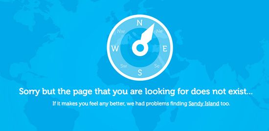 Creative 404 Error Page Designs: 32 Examples | 404 Not Found ...