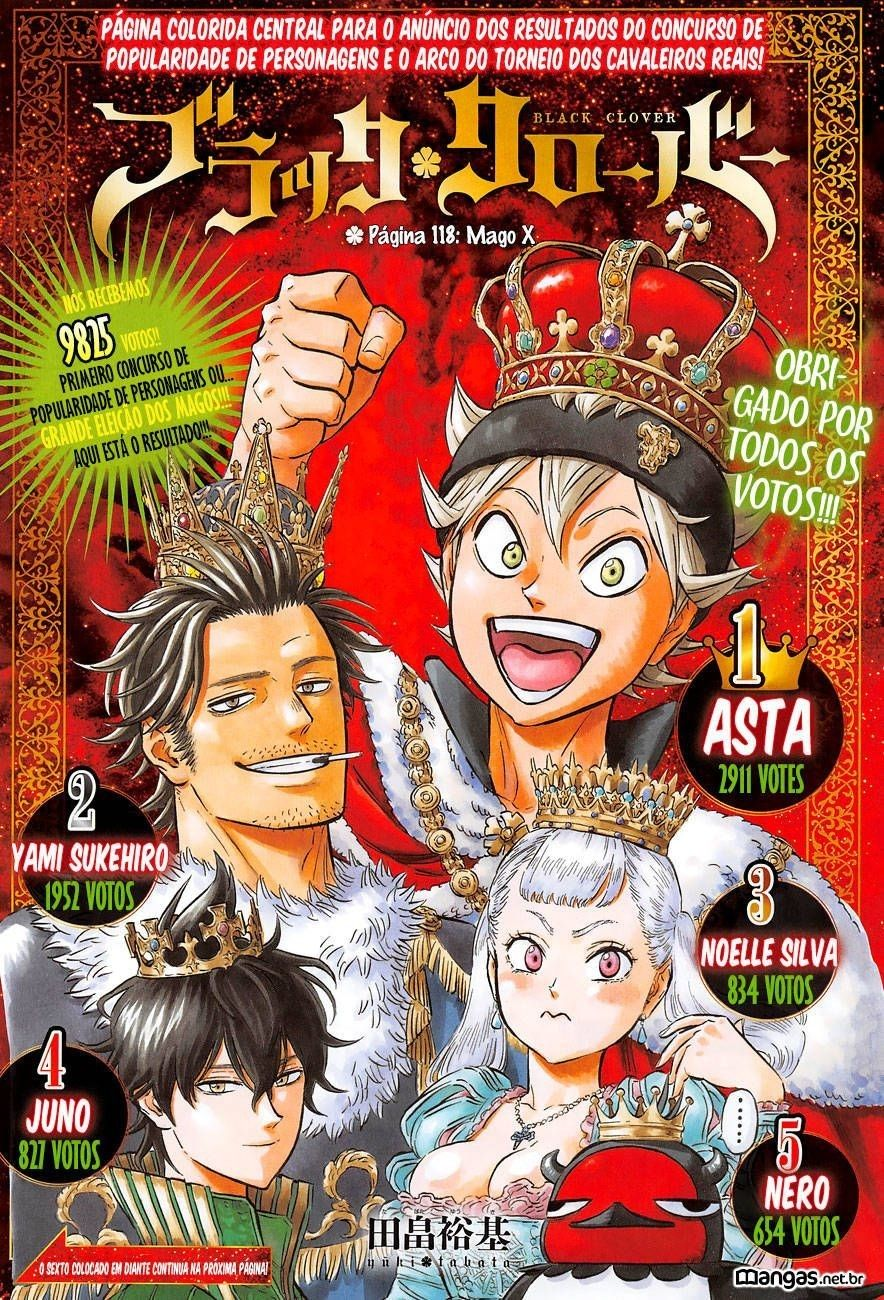 Pin by Rock hadixe on Black Clover | Black clover manga ...