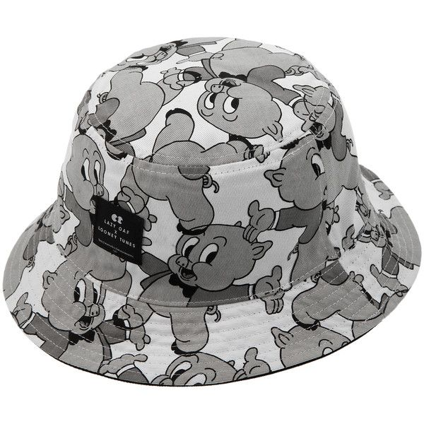 2f5d7d7983c COLETTE LAZY OAF X LOONEY TUNES Bucket hat ( 32) ❤ liked on Polyvore  featuring accessories