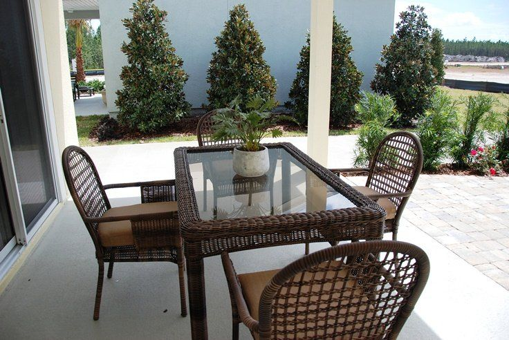 The patio off The Caspian. #florida #freshair #coveredpatio #entertaining #grilling