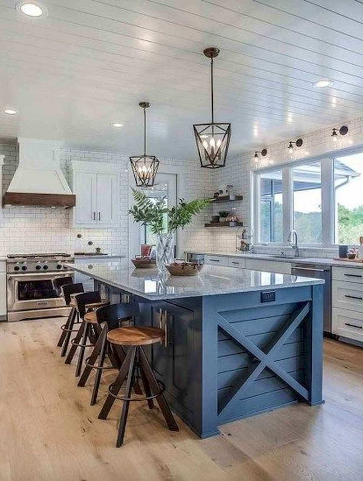 30 unique kitchen island designs farmhouse chic kitchen