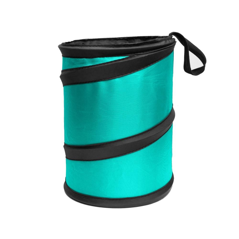 Collapsible and Compact FH Group FH1120BLUE Blue Car Garbage Trash Can