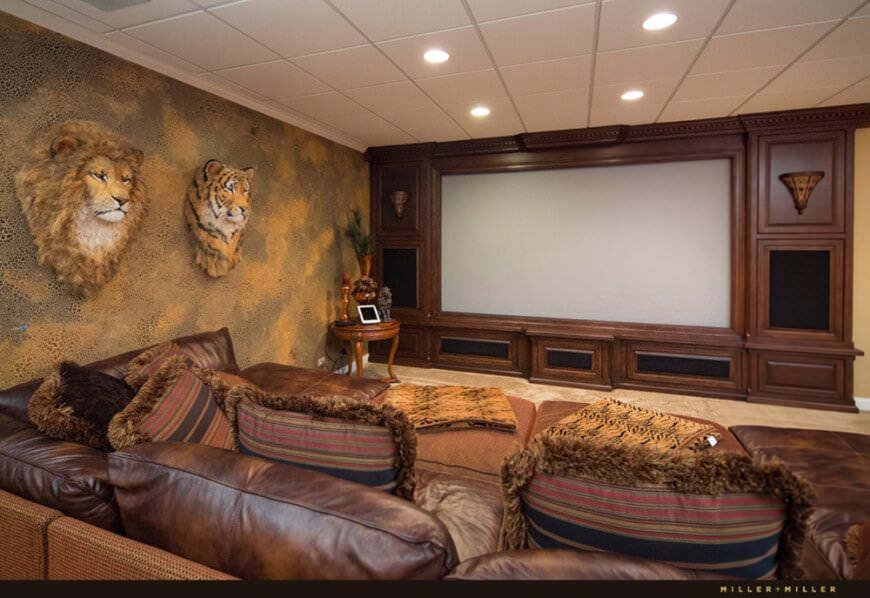 Trophy Room Design Ideas Part - 31: Check Out These Pictures Of 65+ Mind-blowing Home Theater Design Ideas.  From · Media Room DesignTrophy ...
