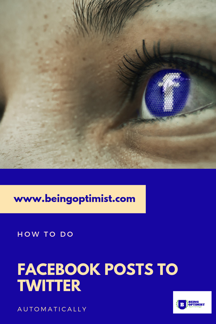 How To Post Facebook Posts to Twitter without using social