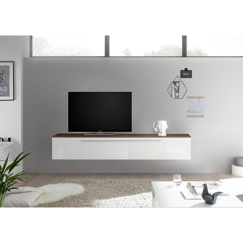 weißer schöner Tv Schrank und tolle Lampe | Wohnen, Tv möbel