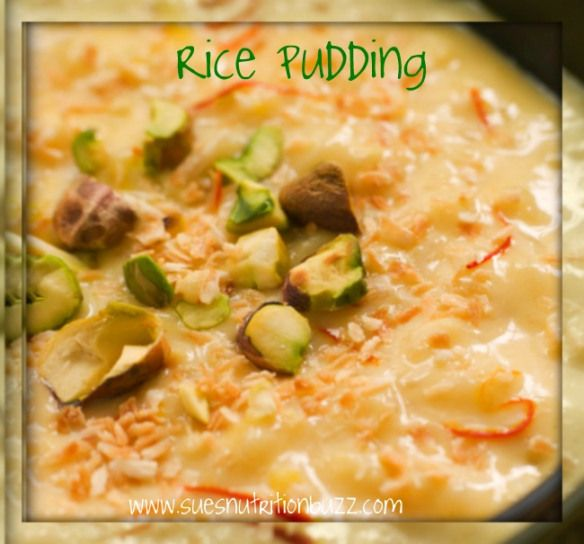 Bowl of Saffron Pistachio and Coconut Rice Pudding: this looks so good!