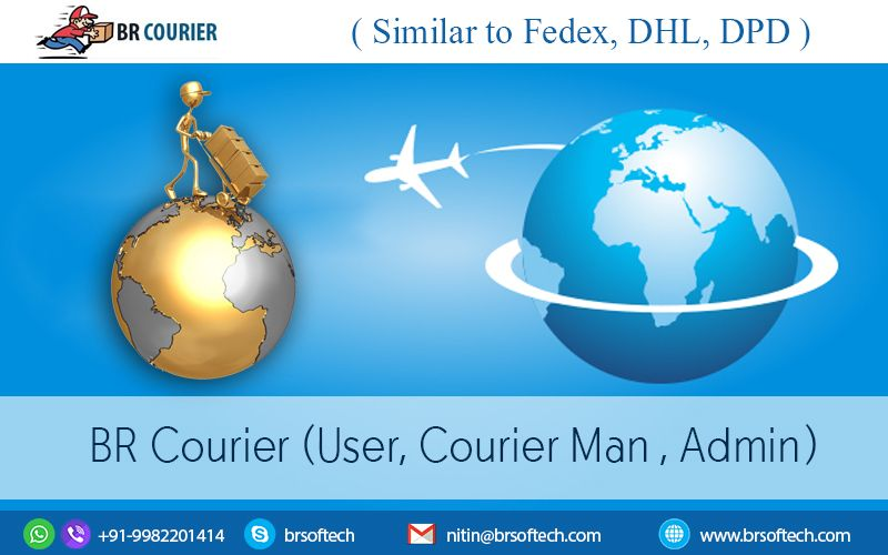Apps #website #like #Fedex or #DHL in #Android, #iOS and
