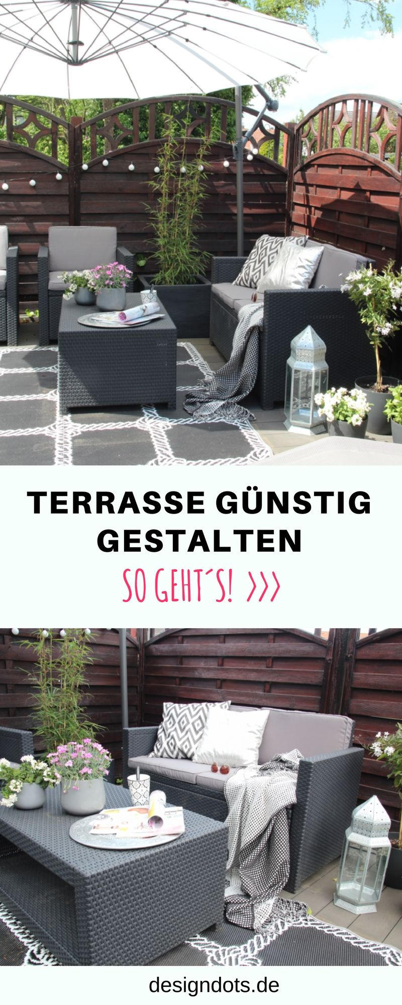 diy terrasse g nstig selber bauen gestalten und. Black Bedroom Furniture Sets. Home Design Ideas