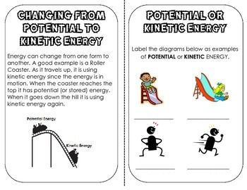 Forms of Energy Mini Book: definitions, examples, review, cut ...