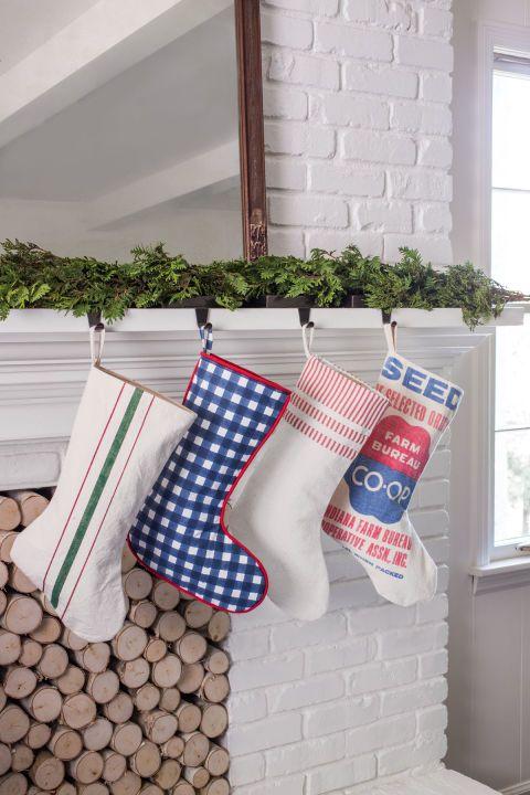 35 Beautiful Christmas Stockings Worth Hanging Craft decorations
