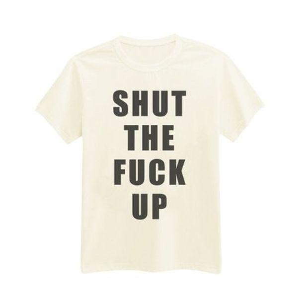 Andre's Designs Women's Shut The Fuck Up Sassy T-Shirt