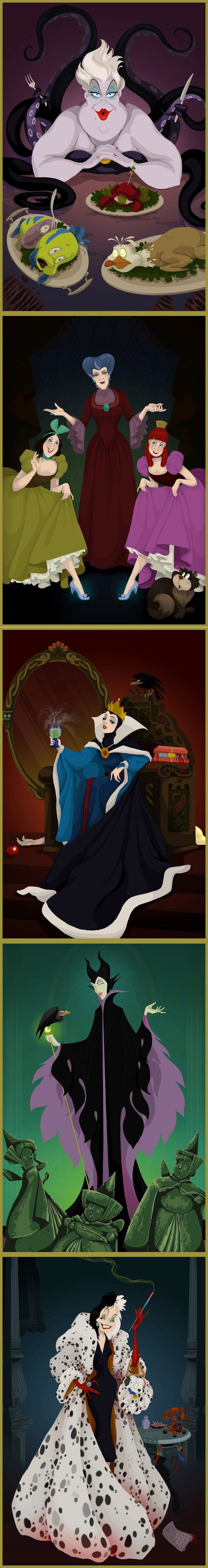 Happily ever after no more: if Disney villains had it their way.