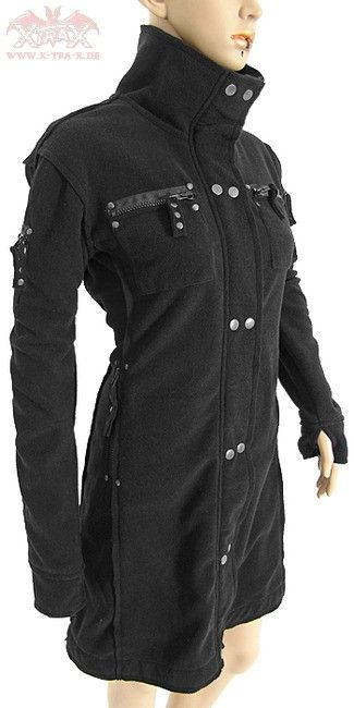 Bat Attack 'Cyber Girl' Fleece Jacket | Fashion | Fashion