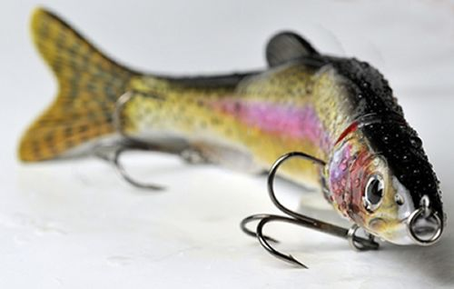Different trout fishing rigs dorado dolphin lures for Speckled trout fishing lures
