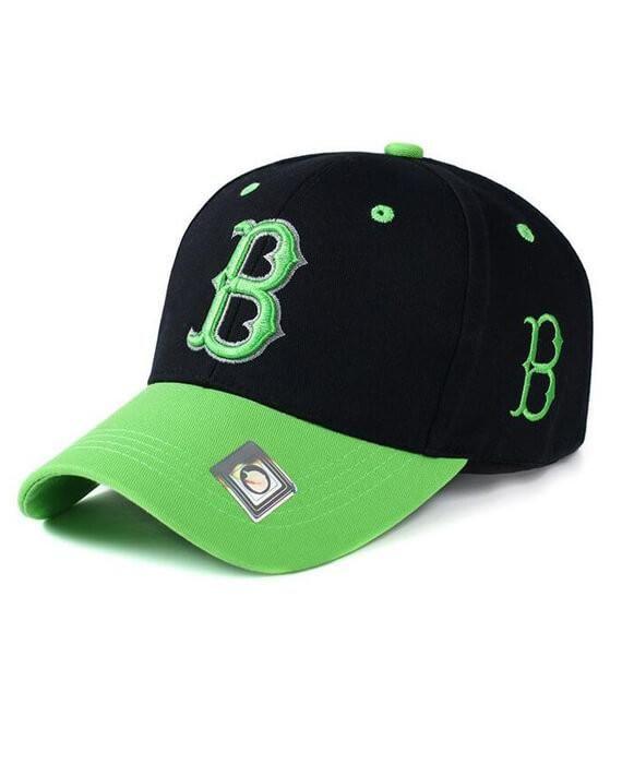 e1c94731b29 Letter B Adjustable Boston Cap