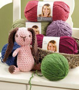 Floppy-ear Crochet Bunny: Crocheting Projects, free pdf, thanks so xox