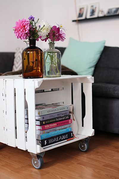 diy tisch aus obstkisten terrasse pinterest furniture projects shabby and diy furniture. Black Bedroom Furniture Sets. Home Design Ideas