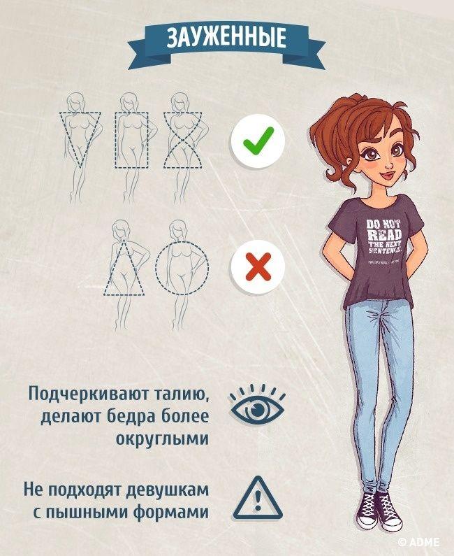 1a83b2f0310 Мобильный LiveInternet Как выбрать идеальные джинсы по типу фигуры и как  правильно укоротить