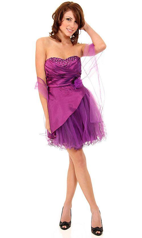 Short-Straples-Semi-Formal-Dress | Dresses | Pinterest | Semi formal ...