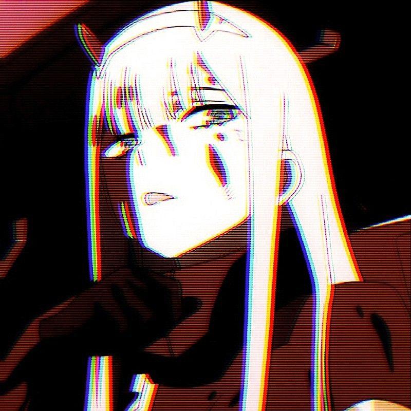 Pfp image by Mei Wang | Zero two, Aesthetic anime