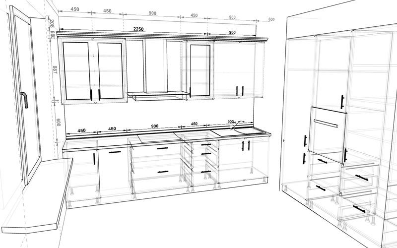 Online kitchen planner 3D - PRODBOARD in 2020 | Kitchen ...