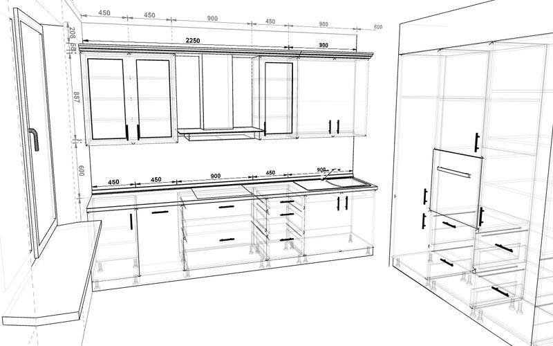 Online Kitchen Planner 3D - Prodboard   Online 3D Kitchen