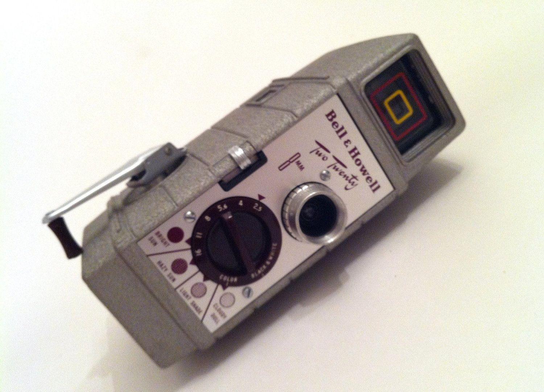 8Mm Vintage Camera vintage movie camera, bell & howell 220 8mm movie camera